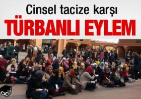 Medya Tacizine Karşı: </p> TÜRBANLI YAZI
