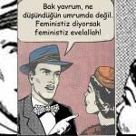 """Bir İktidar Çabası Olarak """"Ben de Feminiğim"""""""