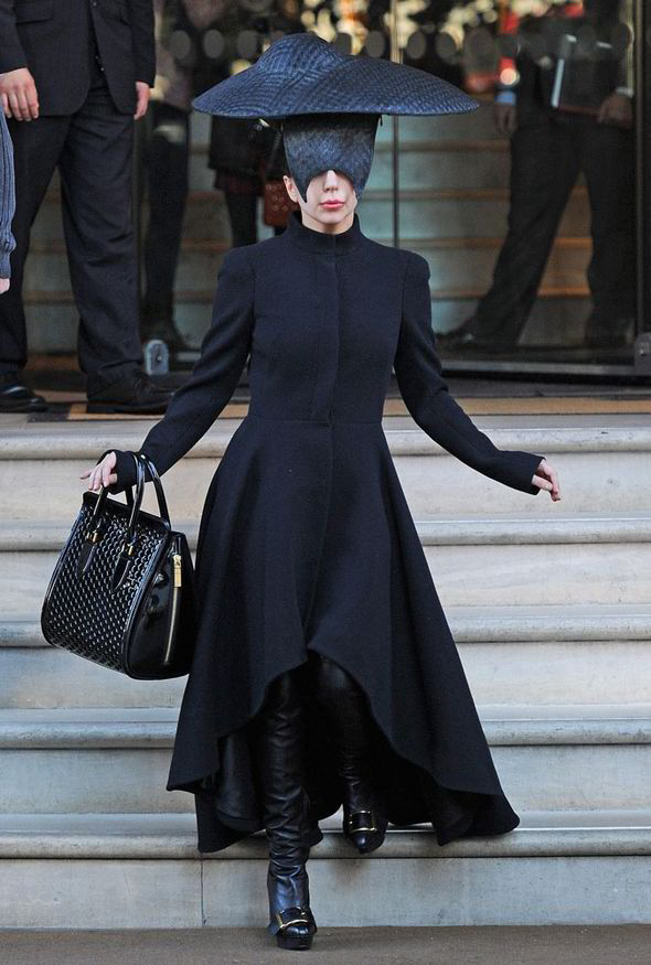 lady gaga black
